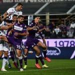 gol Dzeko, Fiorentina-Inter