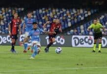 gol Lorenzo Insigne, Napoli-Cagliari