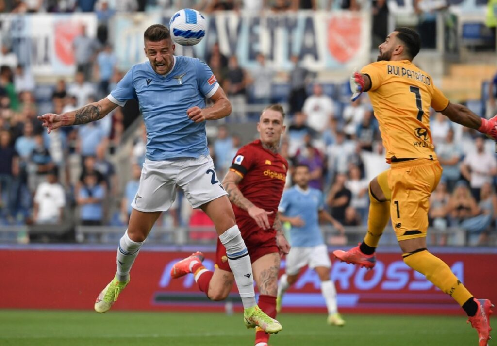 gol Milinkovic Savic, Lazio-Roma