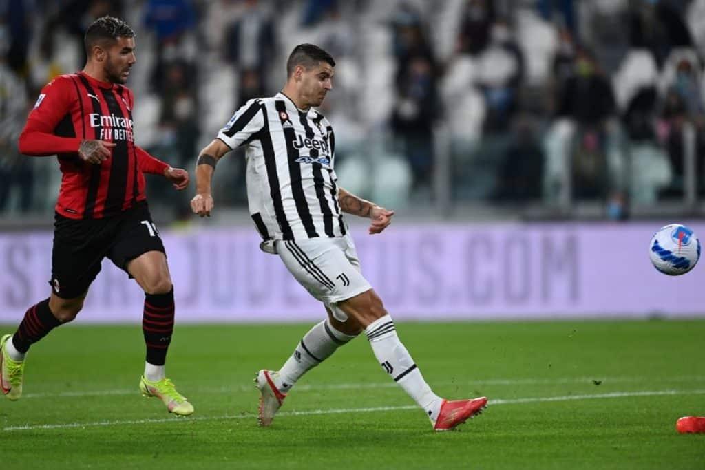 gol Morata, Juventus-Milan