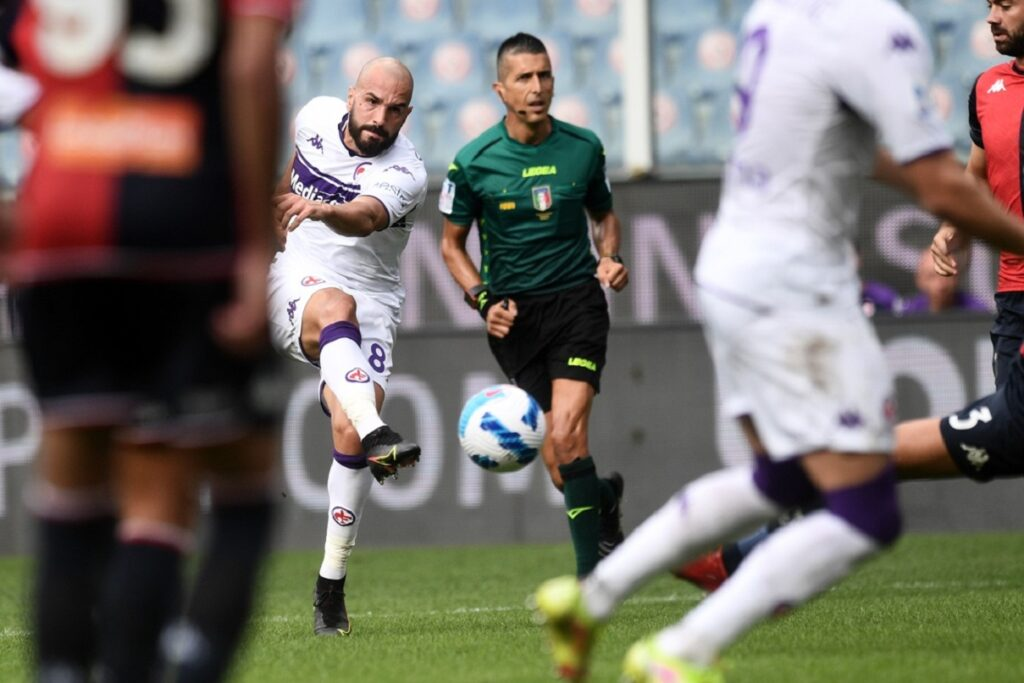 gol Riccardo Saponara, Genoa-Fiorentina
