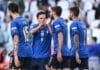 esultanza gol Berardi, Italia-Belgio