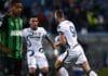 esultanza gol Dzeko, Sassuolo-Inter