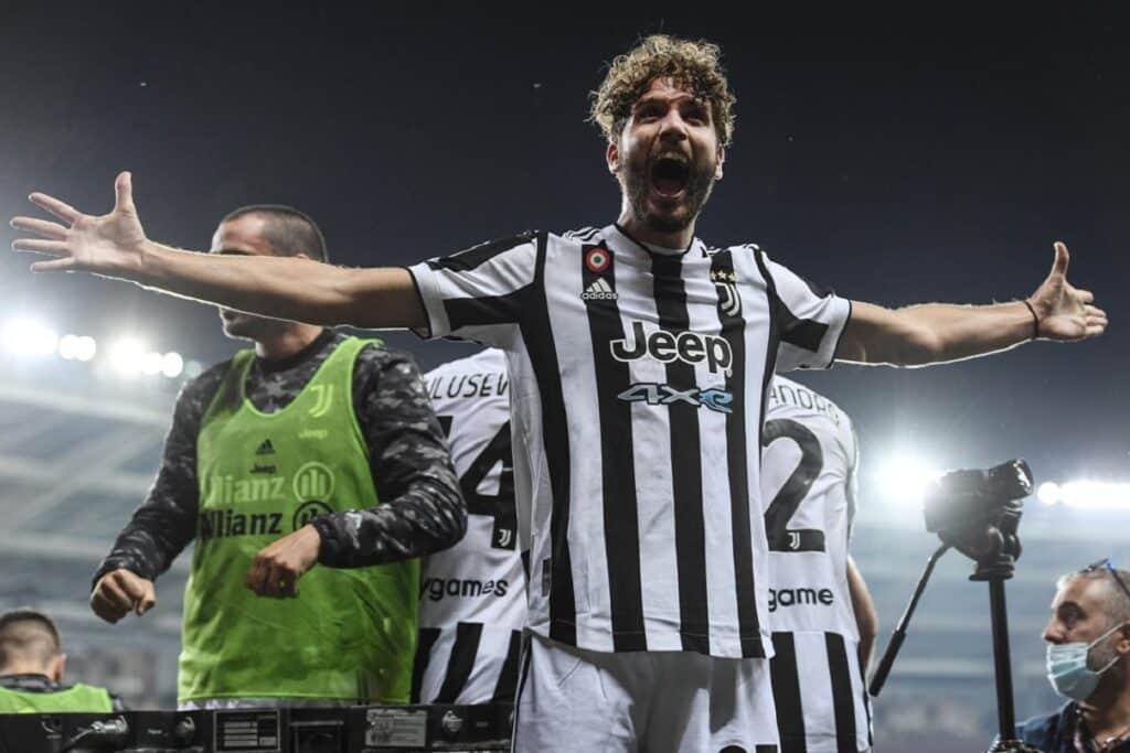 esultanza gol Manuel Locatelli, Torino-Juventus